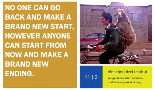 11 I 3 Institut - Spruch des Tages - New Ending